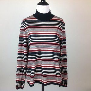 Charter Club Sweater Womens Large Merino Wool